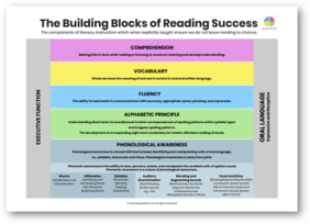 ***SALE*** The Building Blocks of Reading Success A3 Poster